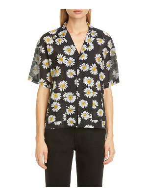 JOHN ELLIOTT resort daisy print button-up shirt