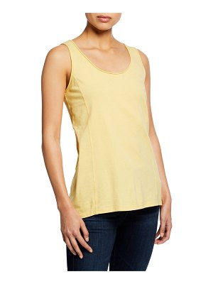 Johnny Was Scoop-Neck Knit Layering Tank