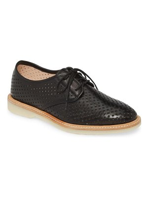 Johnston & Murphy fiona perforated derby