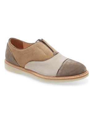 Johnston & Murphy francine laceless slip-on oxford