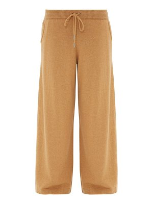 Johnston's Of Elgin colette wide-leg cashmere trousers