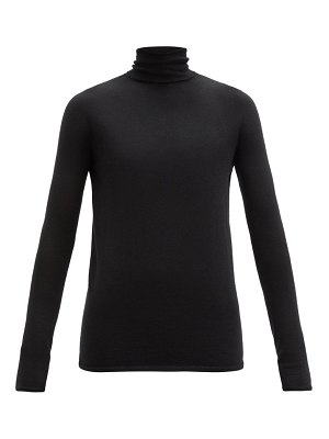 Johnstons of Elgin river cashmere roll-neck sweater