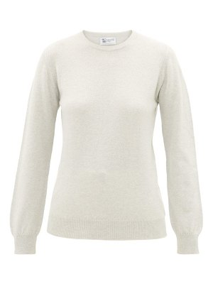 Johnston's Of Elgin round-neck cashmere sweater