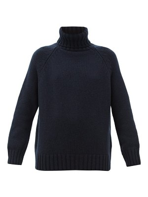 Johnston's Of Elgin sophie roll-neck cashmere sweater