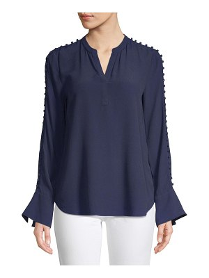 Joie Abe Button Sleeve Blouse
