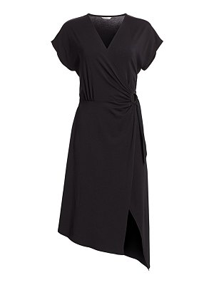 Joie anjula asymmetric wrap dress
