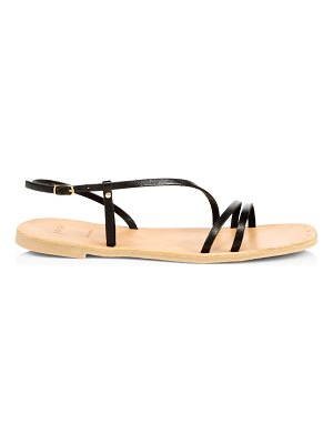 Joie baja flat leather slingback sandals
