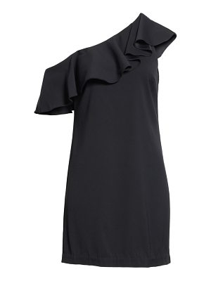 Joie bronwen ruffled one-shoulder dress