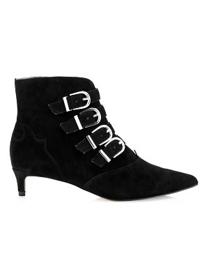 Joie calinda suede buckle ankle boots