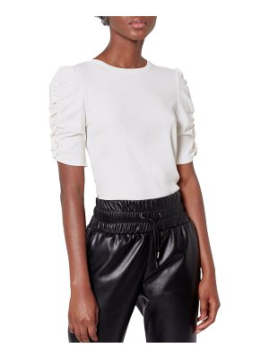 Joie catherine ruched-sleeve top