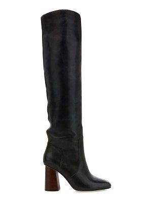 Joie collister knee-high leather boots