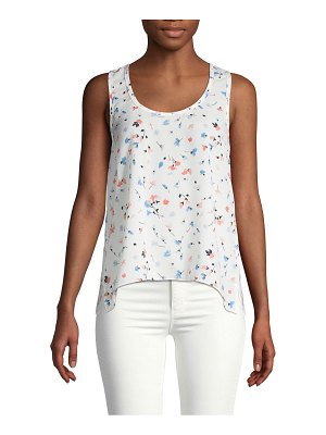 Joie Floral-Print Tank Top
