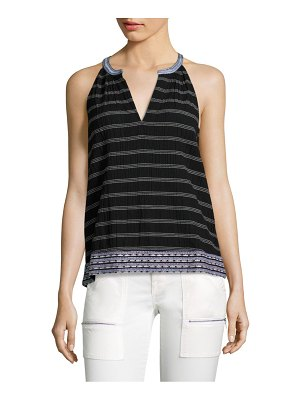 Joie Heather Striped Tank Top
