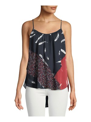 Joie Leniline Printed High-Low Top