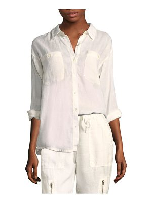 Joie lidelle linen button-down
