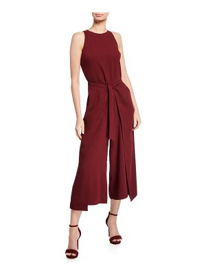 Joie Mairead Sleeveless Split-Leg Jumpsuit