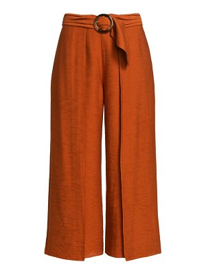Joie mairead wide-leg cropped pants