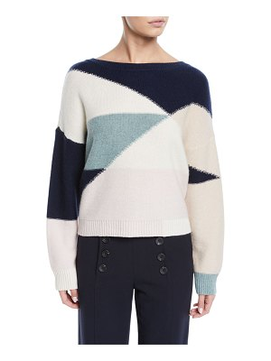 Joie Megu Colorblock Pullover Sweater