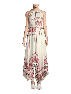 Joie milanira halter maxi dress