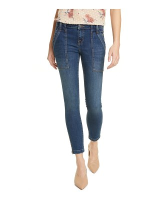 Joie park zip cuff ankle skinny jeans