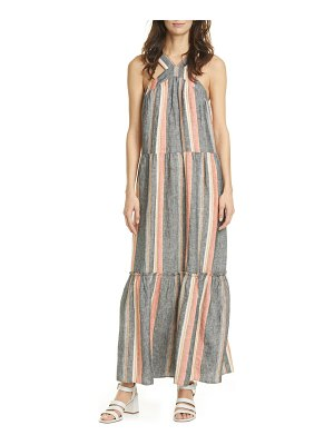 Joie rosabel stripe maxi dress