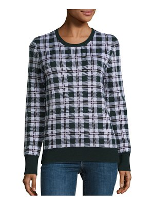 Equipment Shane Plaid Merino Wool Sweater