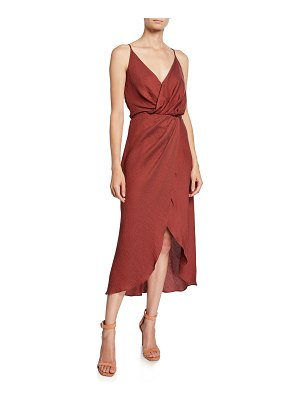 Joie Tanika Sleeveless Wrap Dress