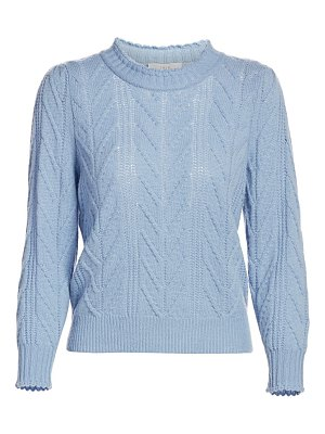 Joie tenzin cable knit sweater