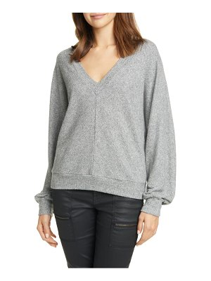 Joie uni ribbed v-neck top