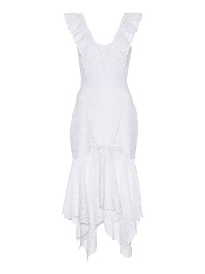 JONATHAN SIMKHAI cotton broderie anglaise dress