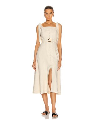 JONATHAN SIMKHAI dawn apron dress