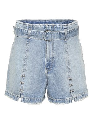 JONATHAN SIMKHAI Embellished denim shorts