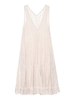 JONATHAN SIMKHAI embroidered sleeveless dress