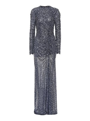 JONATHAN SIMKHAI open-back sequined gown