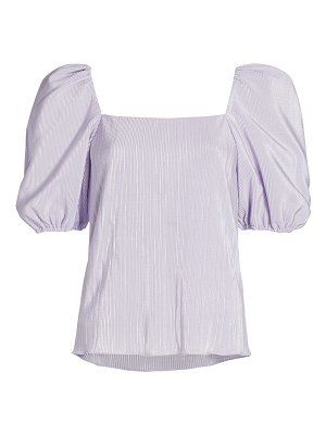 JONATHAN SIMKHAI ruby puff-sleeve top