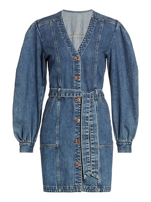 JONATHAN SIMKHAI STANDARD sasha belted mini denim dress
