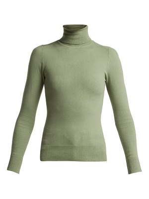 JoosTricot peachskin roll neck cotton blend sweater