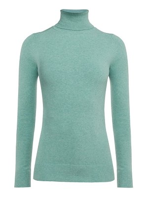 JoosTricot roll neck cotton blend sweater