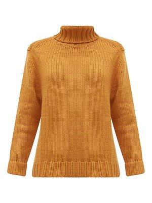 JoosTricot roll-neck wool-blend sweater