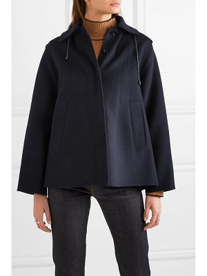 Joseph carbon wool-blend felt coat