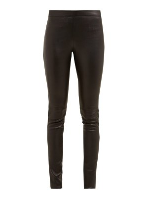 Joseph classic leather leggings