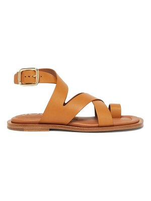 Joseph crossover leather sandals