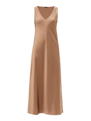 Joseph daris v-neck silk-satin slip dress