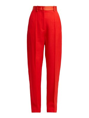 Joseph electra high rise wool trousers