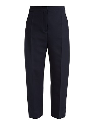 Joseph haim wool-blend twill trousers