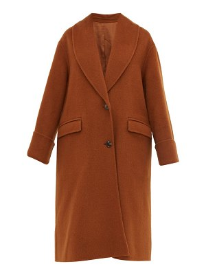 Joseph kara double faced wool blend coat