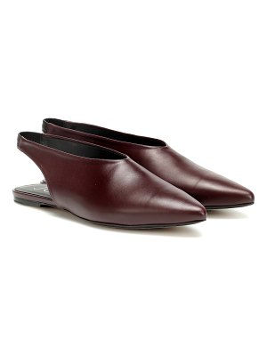 Joseph leather slippers