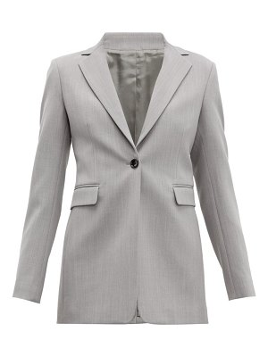 Joseph lorenzo single-breasted wool-twill blazer