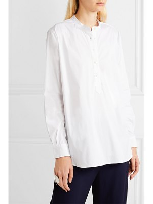 Joseph luke cotton-blend poplin shirt
