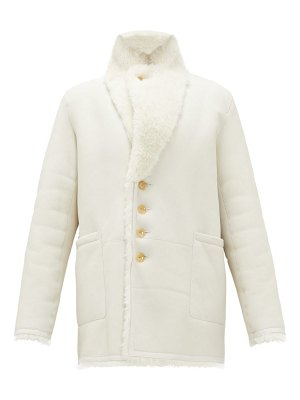 Joseph lyne reversible shearling coat